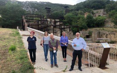 Salvatore Settis, uno degli archeologi e storici dell'arte più insigni del nostro Paese, in visita al Parco